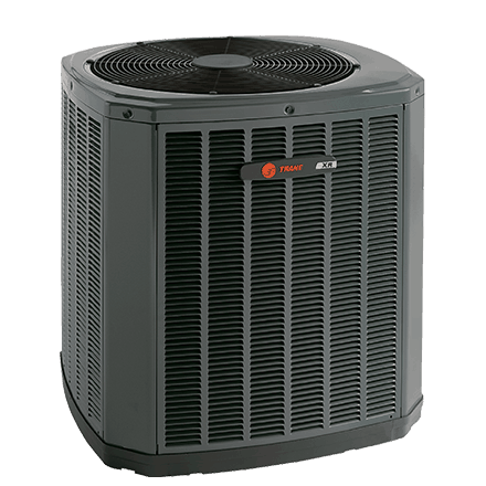 Trane XR16 heat pump.