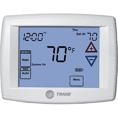 Trane XR302 thermostat.