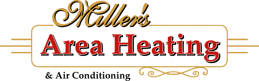 Miller's Area Heating logo.