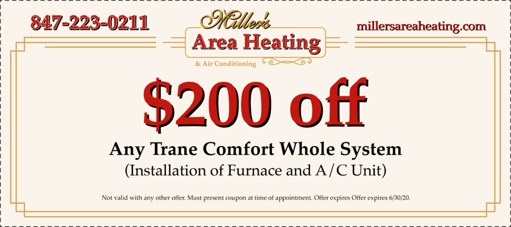 $200 off any Trane comfort whole system