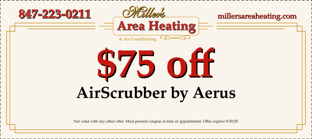 $75 off AirScrubber by Aerus